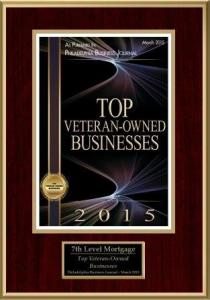 2015 Veteran Owned Business