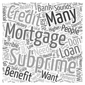 subprime home loans