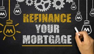 residential mortgage refinance icon