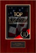 2018 Top Veteran Owned Business Award